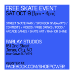 Free Skate in Jersey City from Shoe Power and Ride 5 Media Group