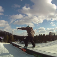 It's been a few years since I've been to Alpine Valley and like most Michigan ski areas, it's not much to write home about, but they do have a few bright spots in their 4 terrain park areas where they are killing it.