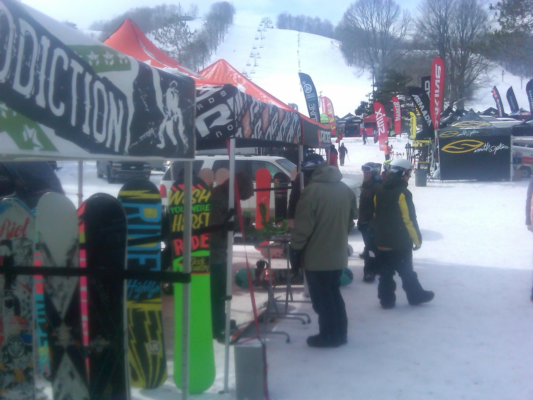 Rome SDS and Ride Snowboards representing