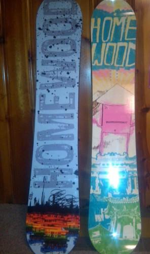 homewood snowboards topsheets