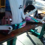 Arbor Element with Ride El Hefe bindings