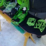 2013 Rome Hammerhead with Rome 390 bindings