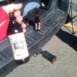Parking lot beers