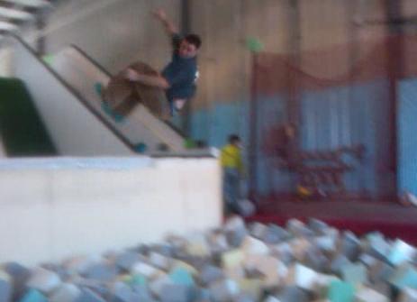 foam pit at Misfit Lab