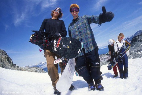 "Craig Kelly and Adam ""MCA"" Yauch"