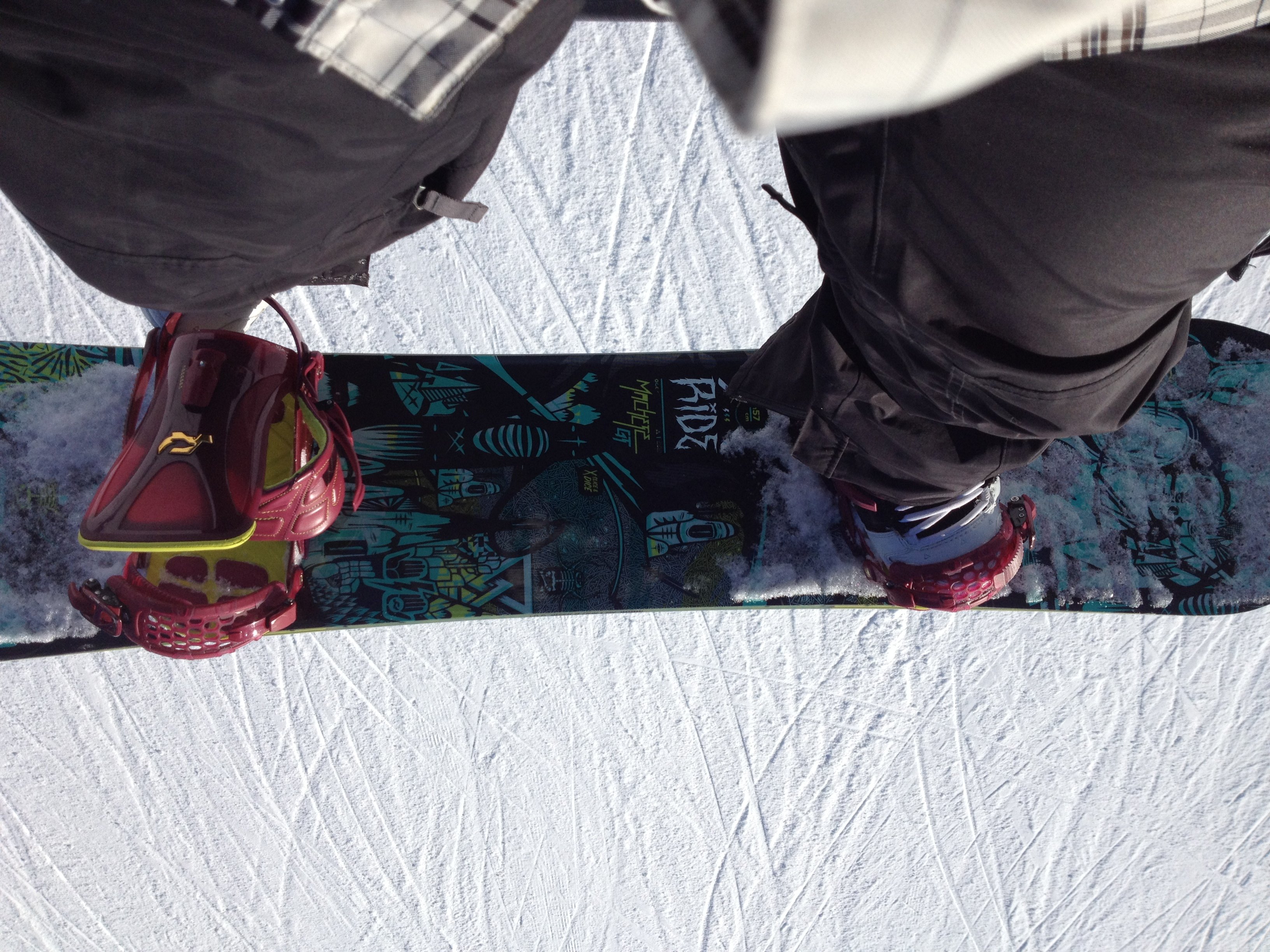 2013 Ride Machete GT snowboard