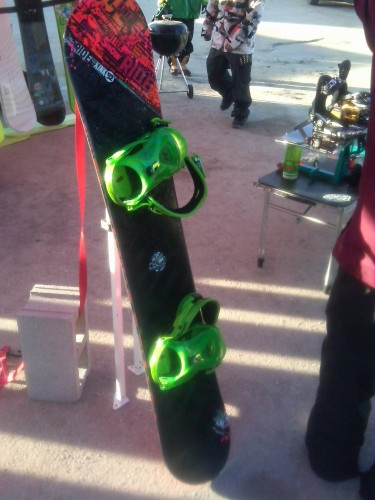 2013 Ride Kink with Ride Revolt bindings