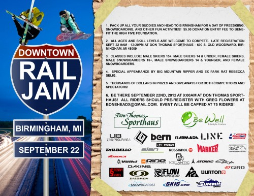 Birmingham Rail Jam 2012