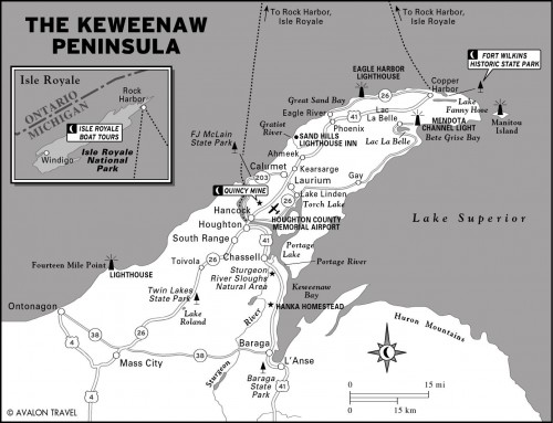 Michigan's Keweenaw Peninsula