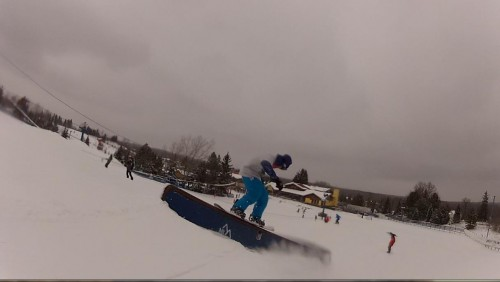 Mt. Holly - snow white terrain park