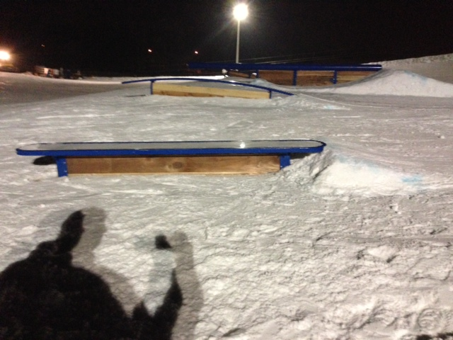 Hawk Island terrain park features