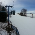 With daytime high forecasted close to 60F on Saturday skiing and snowboarding was probably the last thing on a lot of people's minds but instead of doing responsible adult things like taking down the Christmas lights, I met some friends up at Mt. Holly for the day.