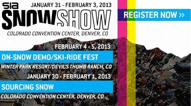 SIA Snow Show 2013