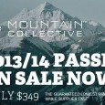 The Mountain Collective pass gets you 12 days of skiing/boarding and 50% off lift tickets at participating resorts with no blackout dates.