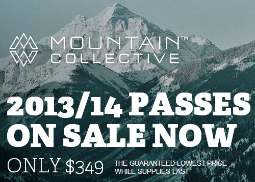 Mountain Collective Pass on Sale Now