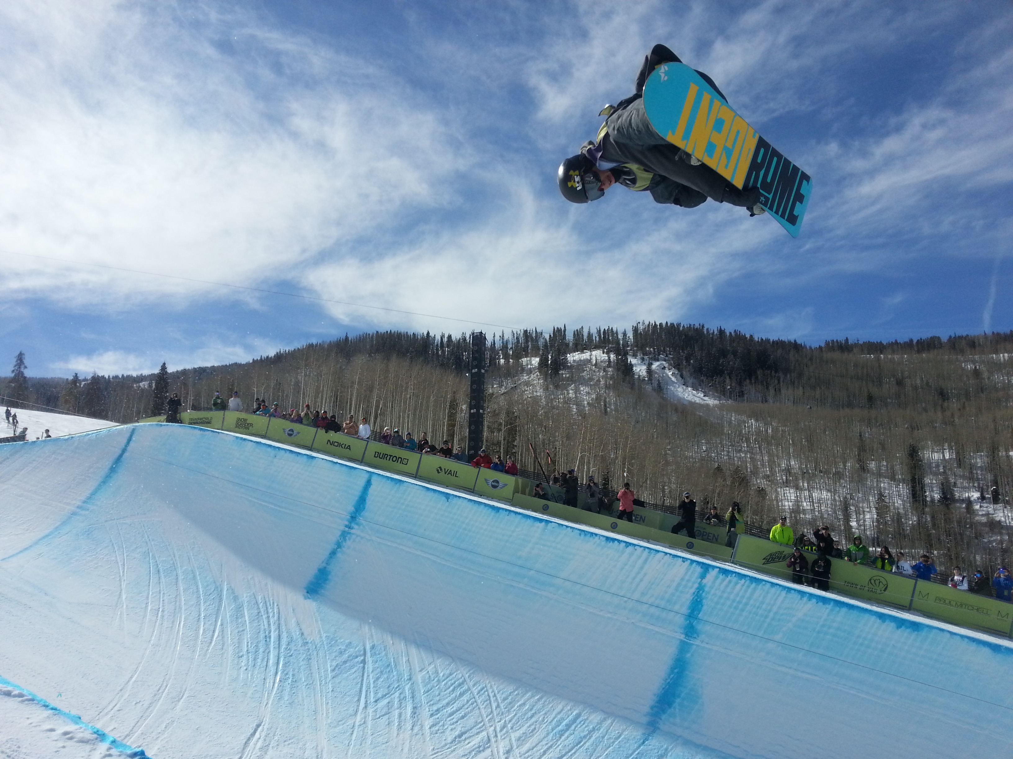 unidentified rider - 2013 Burton US Open