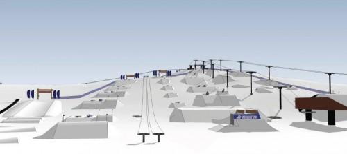 Mt. Brighton Terrain Park Plans