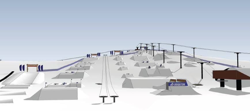 Mt. Brighton Terrain Park Plans