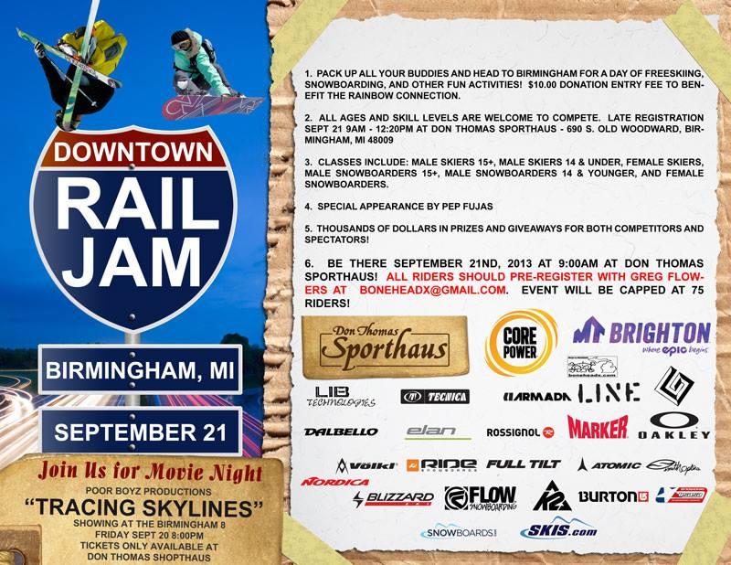 Birmingham Rail Jam - September 21, 2013