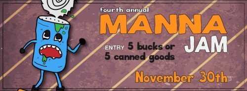 Nub's Nob 4th Annual Manna Rail Jam - November 30, 2013