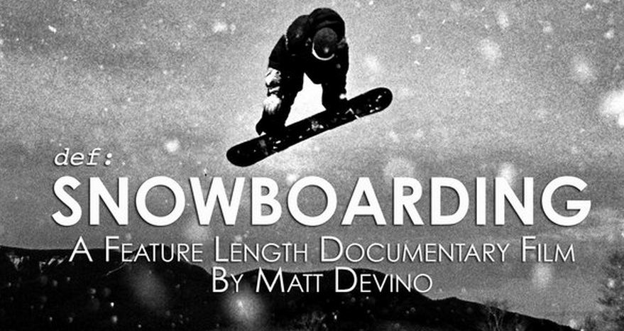 Definition: Snowboarding
