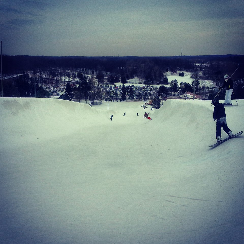 Alpine Valley halfpipe