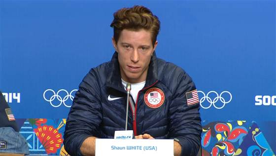 shaun white pulls out of slopestyle at Sochi Olympics