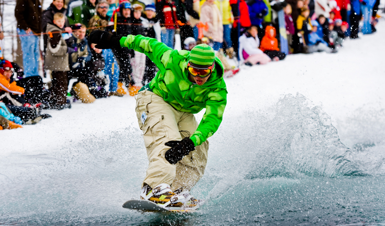 Schuss Mountain slush cup