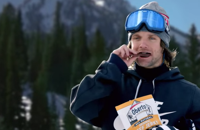 Louie Vito - Oberto Beef Jerky commercial