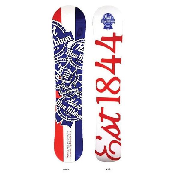 New PBR Pabst Blue Ribbon Lib Tech 188 Skis