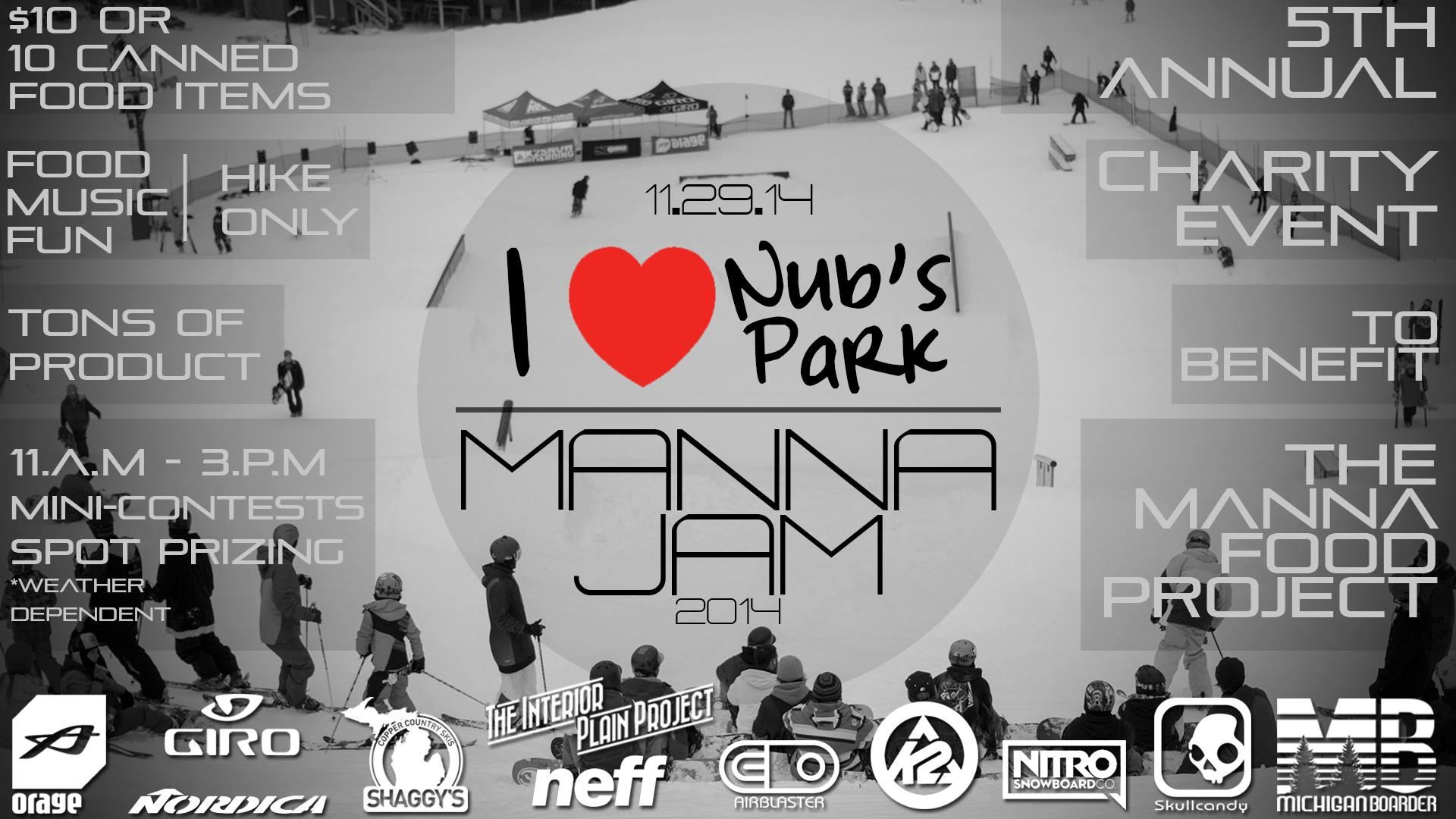 Nub's Nob 5th Annual Manna Jam