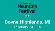 Burton Mountain Festival at Boyne Highlands