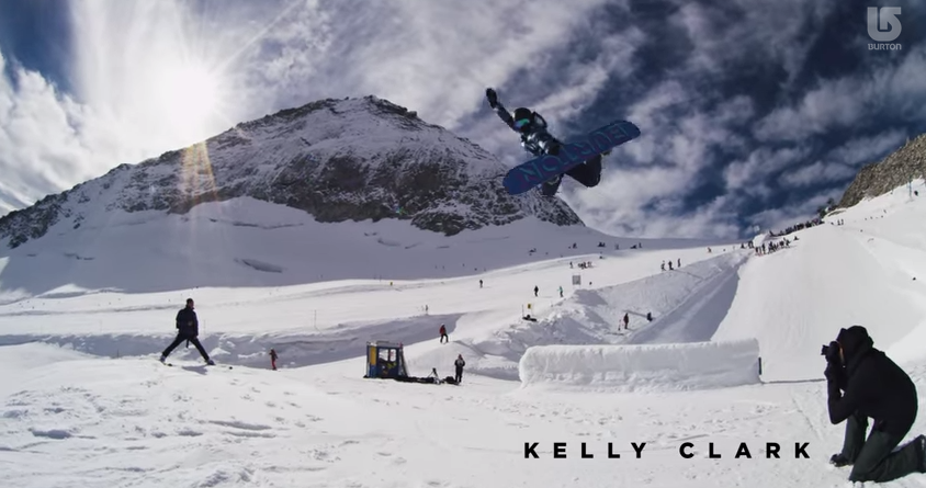 burton team movie: Kelly Clark