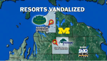 fraternities destroy two michigan ski areas