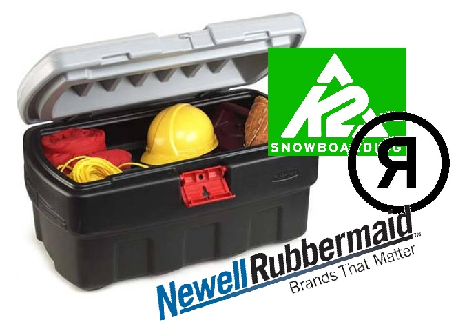 K2 and ride snowboards did not sell out to rubbermaid for Jarden newell