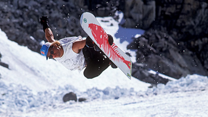 Permalink to:Burton Reissues Iconic Brushie Trout Snowboard