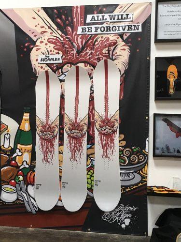 2017-2018 Interior Plains Project Snowboards
