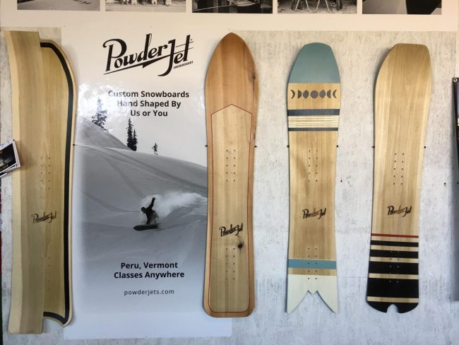 2017-2018 Powder Jet Snowboards