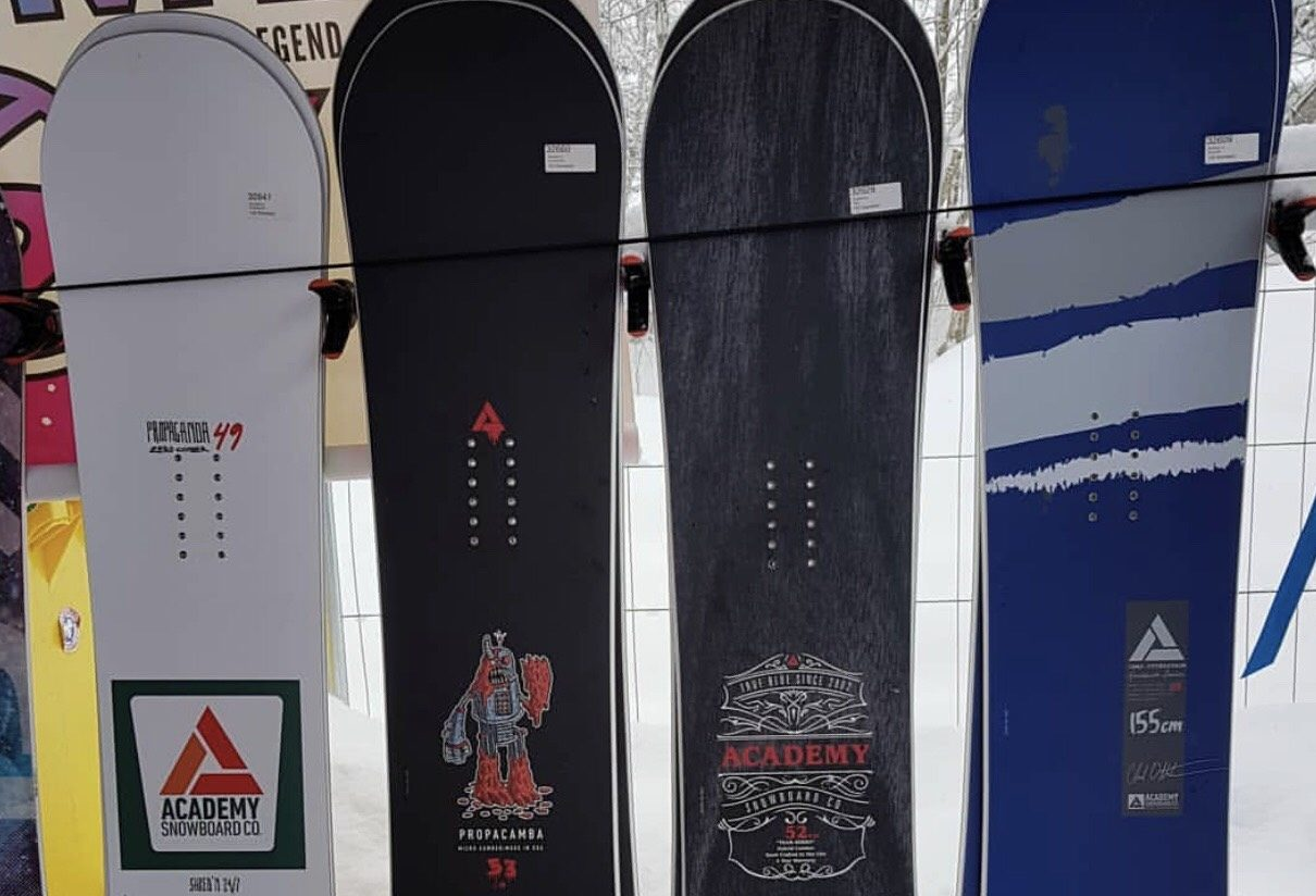 2019 Academy Snowboards Preview